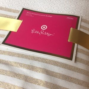 NWT Lilly Pulitzer for Target Beach Blanket