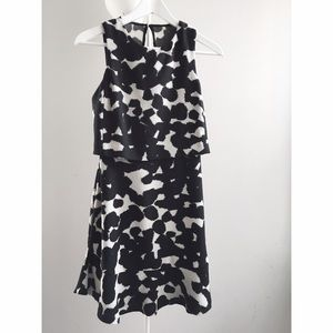 Banana Republic inkblot dress