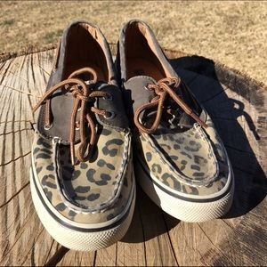 Sperry Top-Sider Shoes - Cheetah Sperry Topsiders