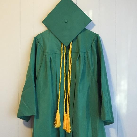 Jostens Other Green Graduation Robe With Cord Poshmark