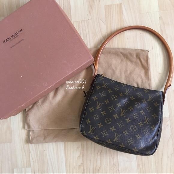 55 off louis vuitton handbags louis vuitton monogram for Louis vuitton bin bags