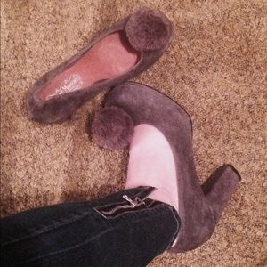 Jeffrey Campbell Shoes - 💜 Gray Jeffery Campbell Heels 💜