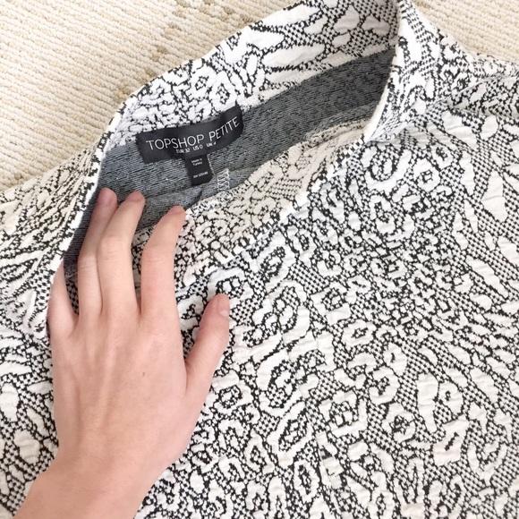 Topshop Skirts - NEW Topshop petite floral skater skirt