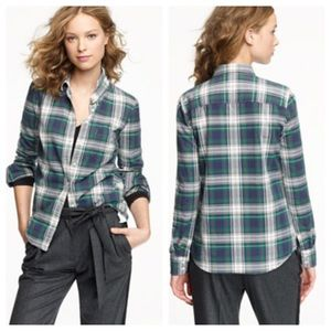 J. Crew Tops - J. Crew Carrick tartan plaid shirt