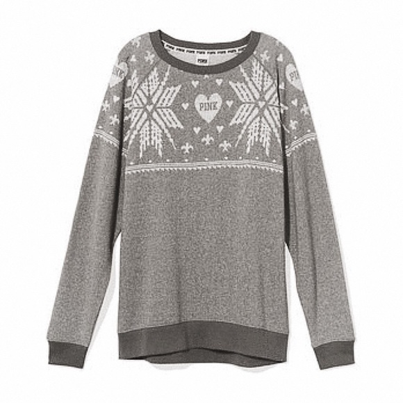 71% off PINK Victoria's Secret Sweaters - VS PINK FAIR ISLE ...