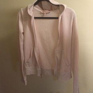 Juicy couture baby pink sweatshirt
