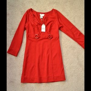 NWT Sophie Max red dress