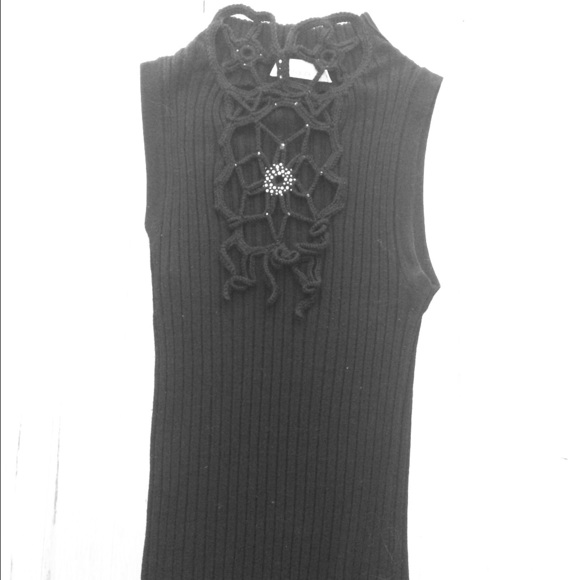 hot sale online cccea 04fe4 Pinko spider web sleeveless top