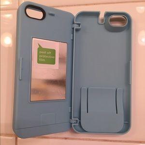Accessories - EYN powder blue iPhone 5 case