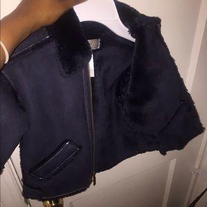 Widgeon faux fur toddler coat