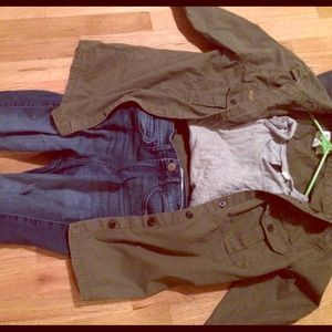 Army jacket from forever 21