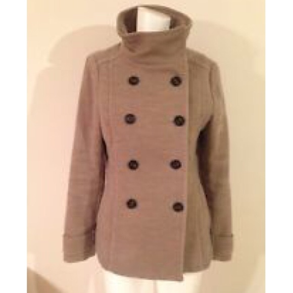 61% off H&M Jackets & Blazers - H&M Womens Beige Tan Taupe Double ...