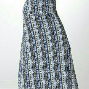 Bellino Clothing Dresses & Skirts - New Printed Maxi Skirt