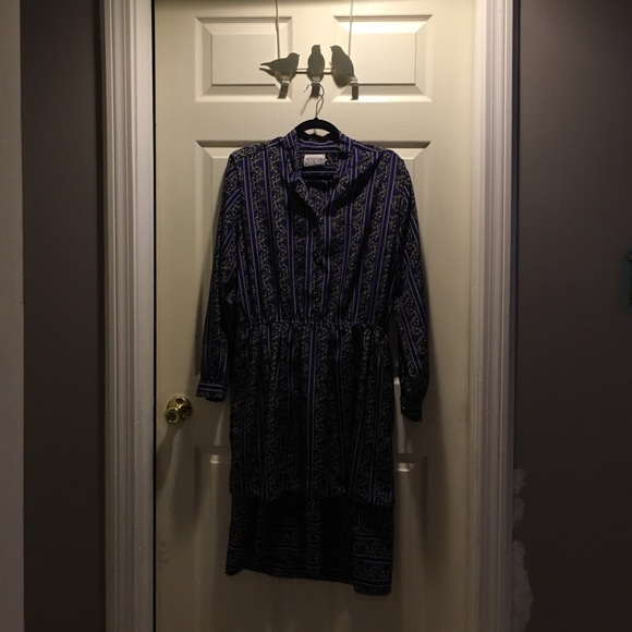 Vintage Dresses & Skirts - Vintage dress from late 70s early 80s