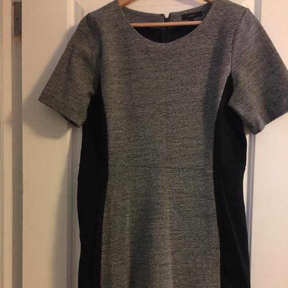 JCrew thick fabric stretch dress...