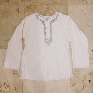 Nexx Tops - Cream tunic blouse