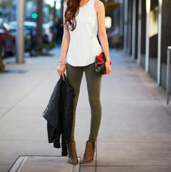 Jessica Simpson Pants Dark Olive Green Poshmark