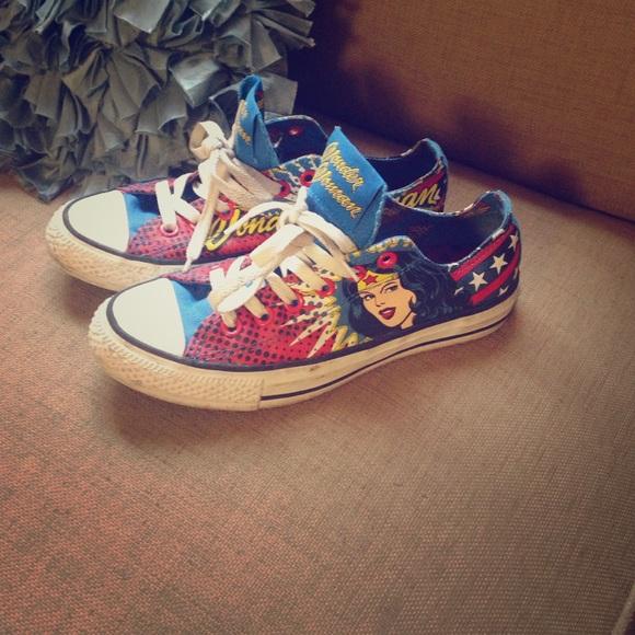 acf9858bebd0 Converse Shoes - Converse Chuck Taylor s DC Comics Wonder Woman ✨
