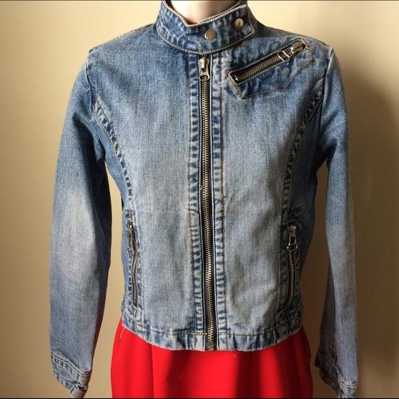 photos officielles b5aea 5557e Ado Style 100% denim jean style jacket size S