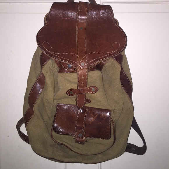 e14e0dbbbaa Ralph Lauren rugby vintage backpack. M 56b9673999086ad05b05e5fc. Other Bags  ...
