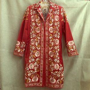 Biya Embroidered Coat