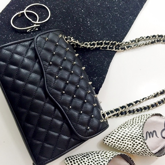 img cartera affair quilt mini black de rebecca styleto quilted minkoff