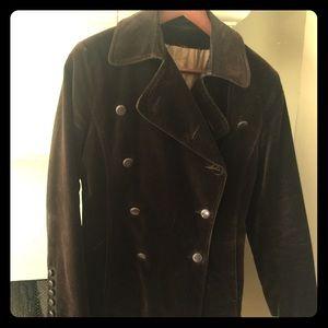"Jackets & Blazers - Beautiful ""Vintage"" brown velvet jacket"