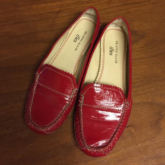 33ff541ba00 Anne Klein Shoes - Red AK Anne Klein iflex loafers