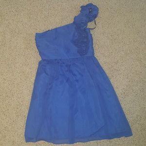 Size 8 Blue Ellen Tracy dress