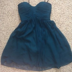TEAL HOMECOMING/PARTY DRESS