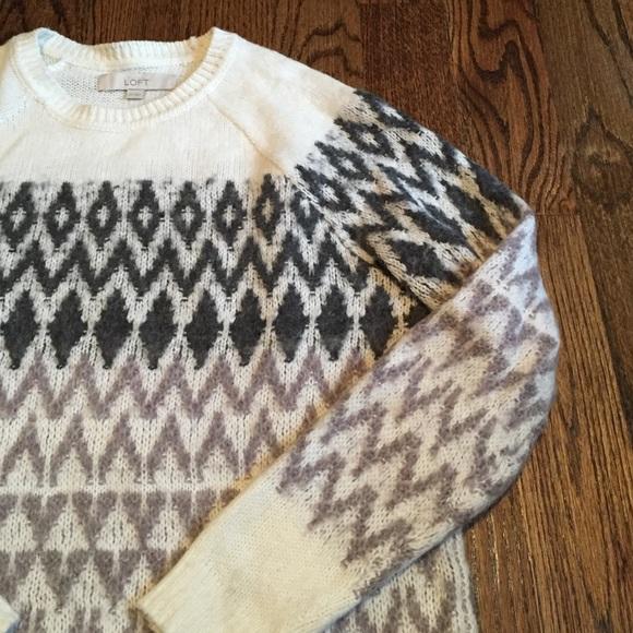 66% off LOFT Sweaters - 🎉HP🎉 Ann Taylor LOFT Fair Isle Sweater ...