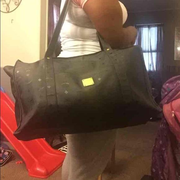 e828c26a9 MCM Bags   Duffle Bag Black Authentic With Code   Poshmark