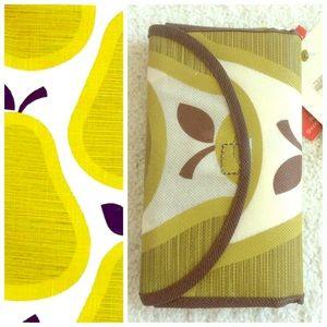 Orla Keily Handbags - ORLA KIELY Pear Print Reusable Tote Bag