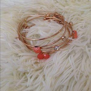 Jewelry - Coral bracelet bangle