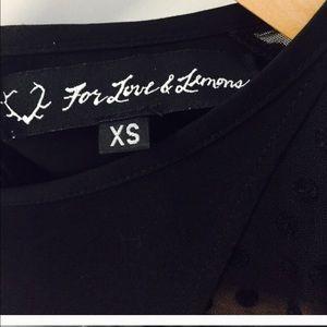 For Love and Lemons Dresses - for love and lemons black dress