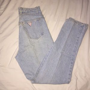 Vintage guess mom jeans size 26/27