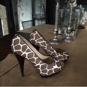 MICHAEL Michael Kors Shoes - MICHAEL Michael Kors giraffe heels