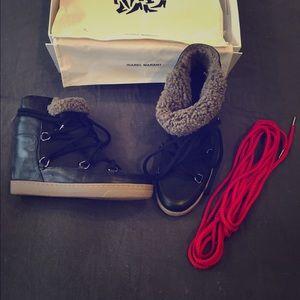 Isabel Marant Snow Boots Black