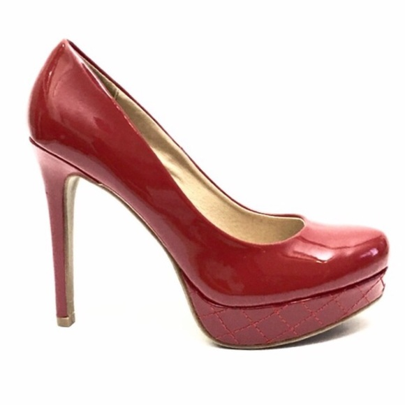 635ee8512a Chinese Laundry Shoes - Chinese Laundry Wish For Patent Red Platform Pumps