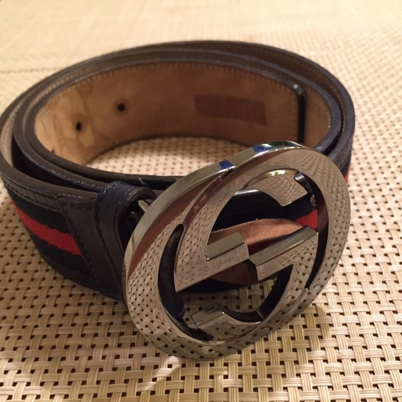6d7488810db Gucci Other - Original Gucci Men Belt Red and Blue