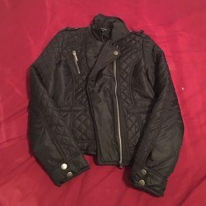 New Look Jackets & Blazers - Plush Black Jacket