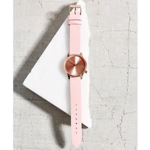 Komono Accessories - Komono Estelle Pastel rose gold watch
