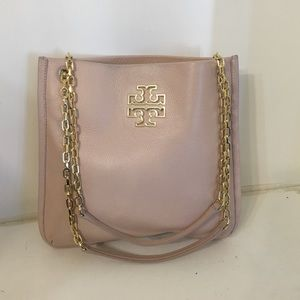 Tory burch britten leather swingpack