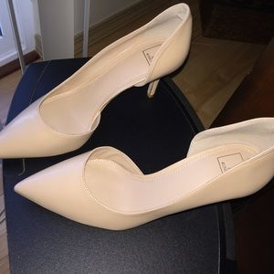 14th & Union Shoes - LIKE NEW NUDE HEELS