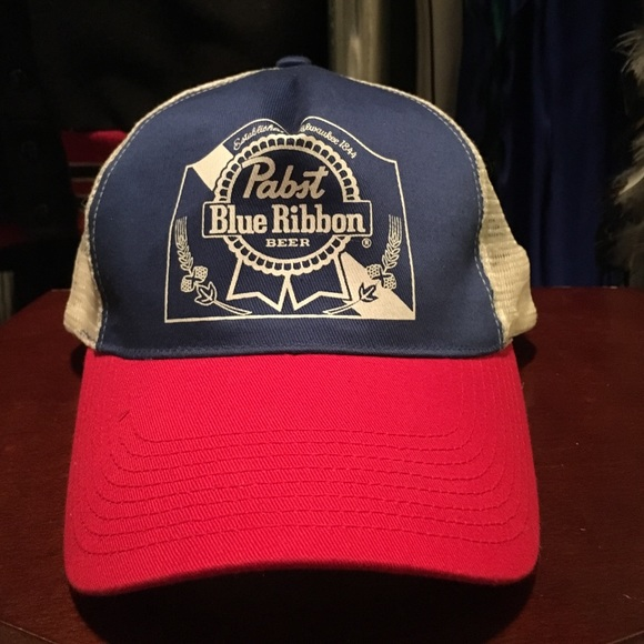 3c10dd2b187 Accessories - Vintage PBR Trucker Hat 🍺