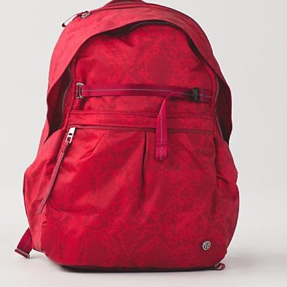 4e1e5e7621 LULULEMON Pack It Up BackPack Gym Bag Laptop