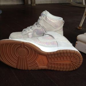 Nike Shoes - Women s Nike High Dunk Iridescent 6f37f1d32