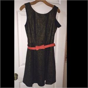 BNWT!!! Ark & Co. Fit & Flare Tweed Dress