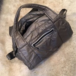 Nike travel bag women grey