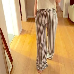 Asos High Waisted Wide Leg Trousers - Size 2